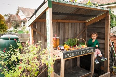 Food Share Shed - Nash Street Community Garden